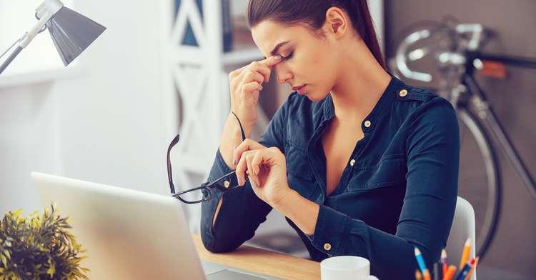 Fit am Bildschirm mit einer einfachen Augen-Entspannung – Zeit-Spar-Tipp Nr. 9