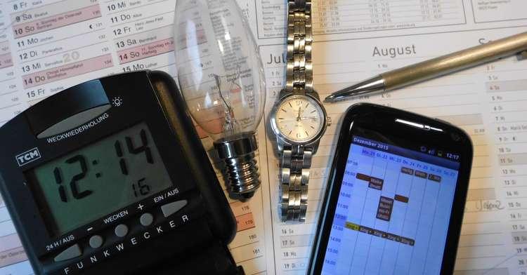 Tagesplanung – den Tag schriftlich planen – Zeit-Spar-Tipp Nr. 1